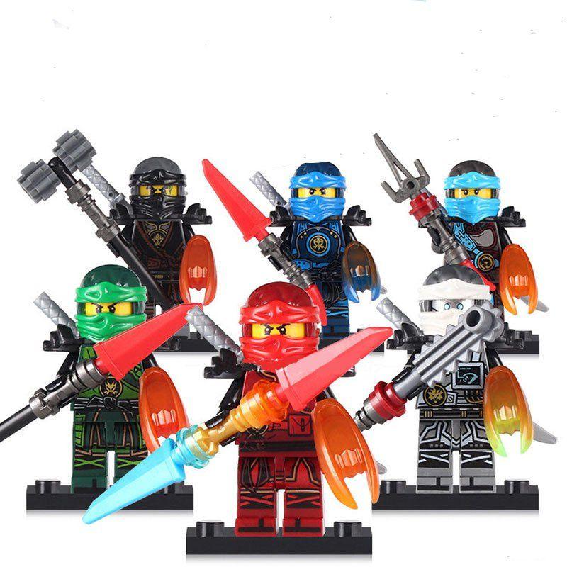 Comic sets Ninjago Minifigures 2018 Lego Minifigures Compatible Toys