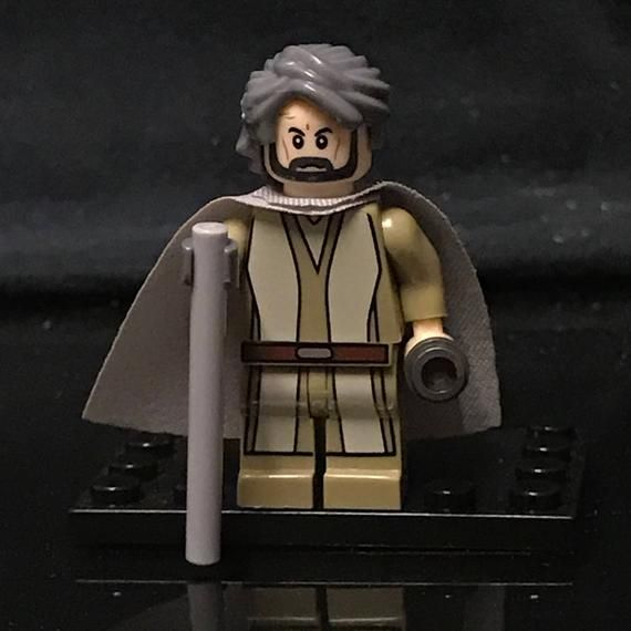 Force Awakens Luke Skywalker Star Wars Minifigure Custom Minifigures