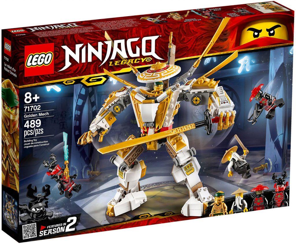 LEGO Ninjago 71702 : Le robot d'or