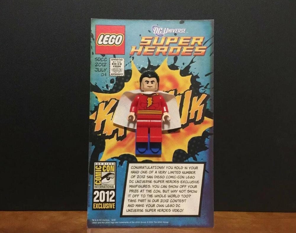 Lego SDCC 2012 Shazam Super Heroes Comic-Con Exclusive – Excellent Condition  | eBay