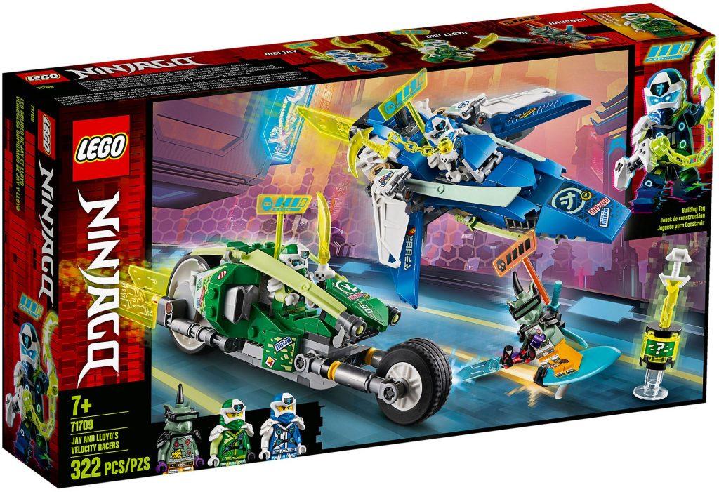 LEGO Ninjago 71709 : Les bolides de Jay et Lloyd