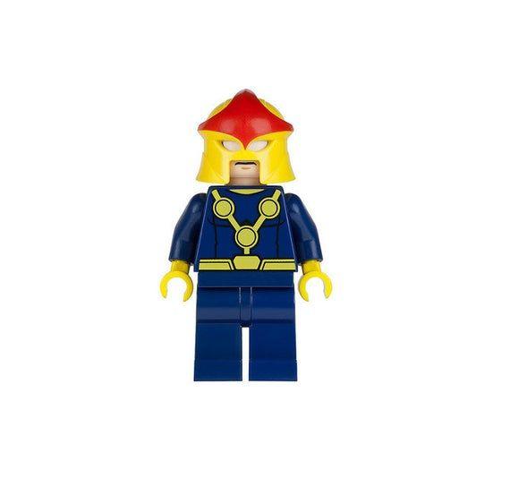 Lego MINIFIGURE Super Hero Nova
