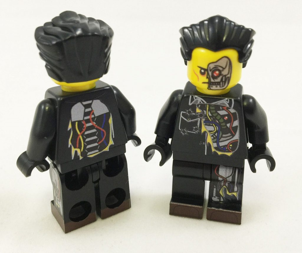 Brick Loot Exclusive Al B. Back Custom LEGO Minifigure LIMITED EDITION