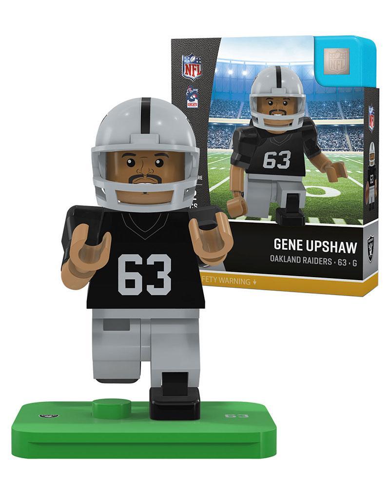Raiders GENE UPSHAW Retired Legend Limited Edition OYO Minifigure