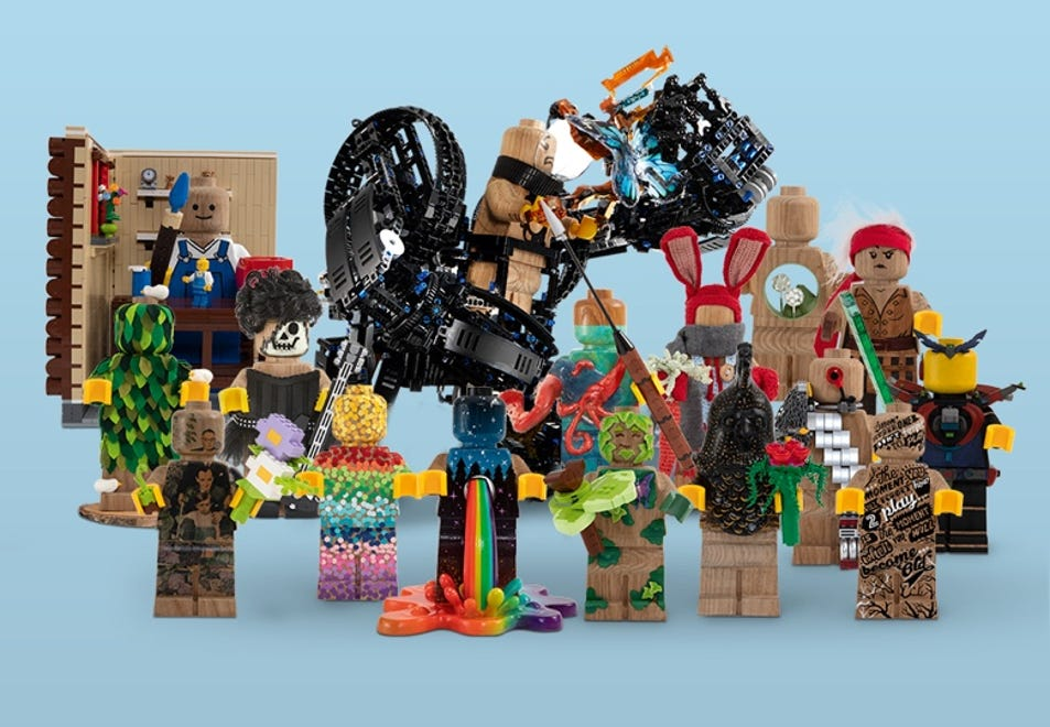 LEGO® Wooden Minifigure 853967 | LEGO® Originals | Buy online at the Official LEGO® Shop US