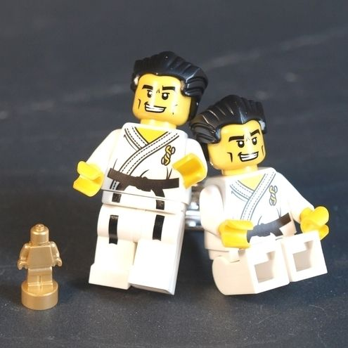 Martial Arts LEGO (r) Cufflinks – Karate, Judo or Kung Fu