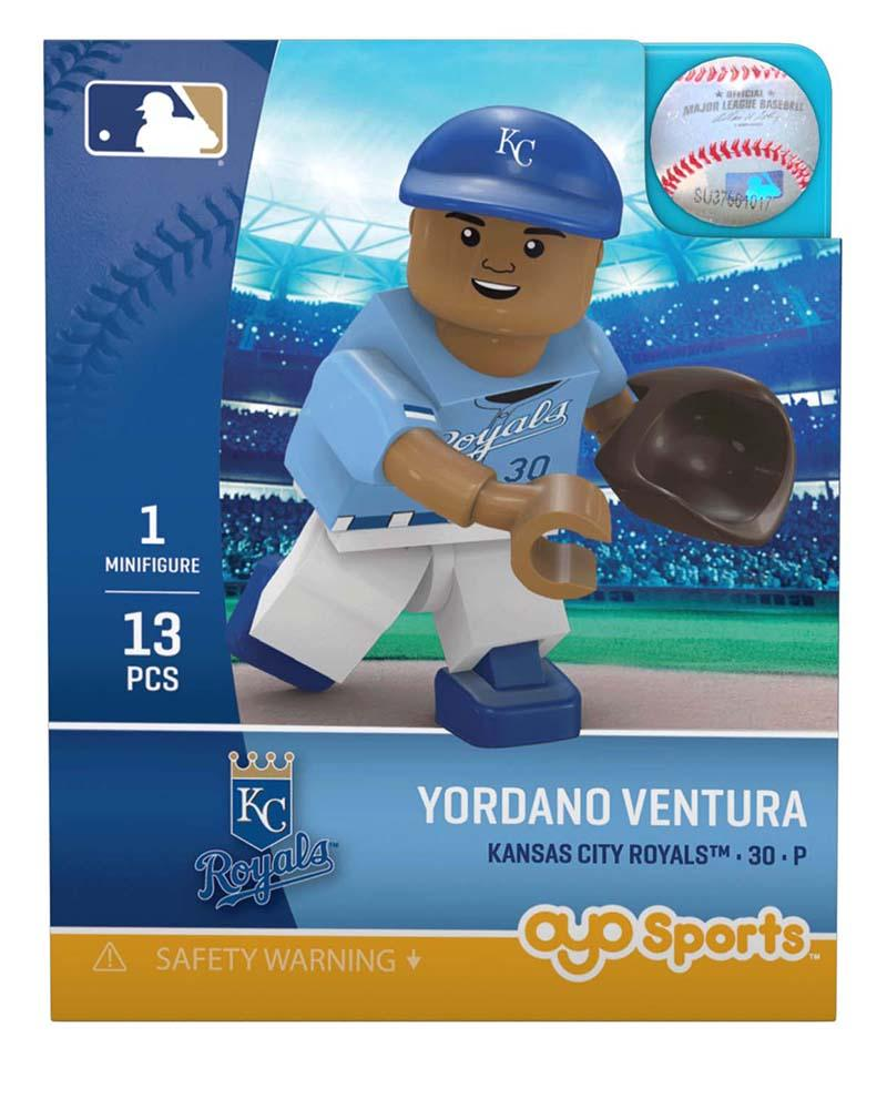 Kansas City Royals YORDANO VENTURA Limited Edition OYO Minifigure