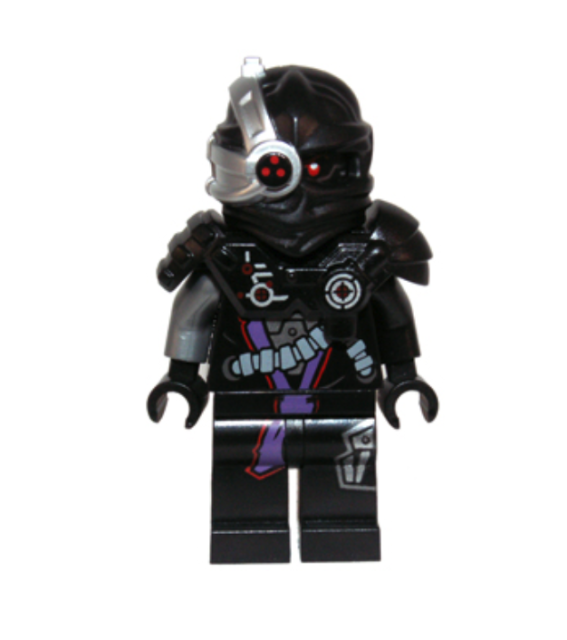 Nindroid Warrior Ninjago Series Lego Minifigure
