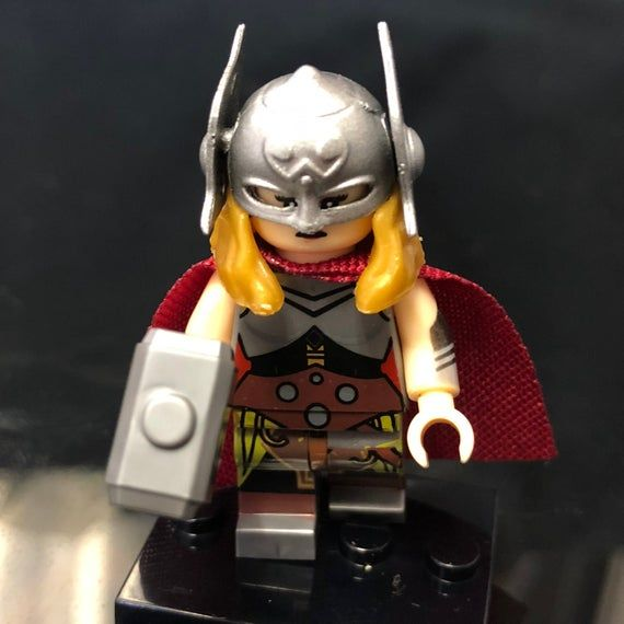 Lady Thor Custom Minifigure | Marvel Superheroes | Avengers