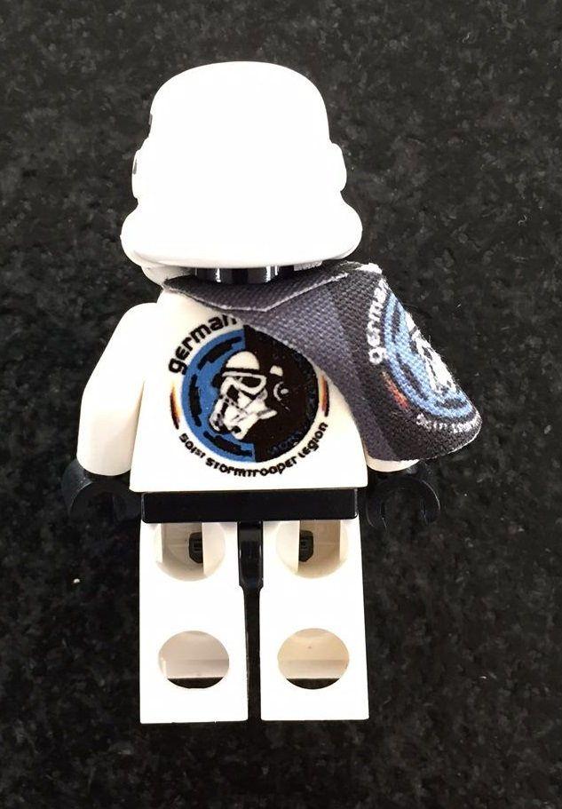 Lego 501st Limited Edition to 95 units German Garrison Minifigure Black Pauldron…