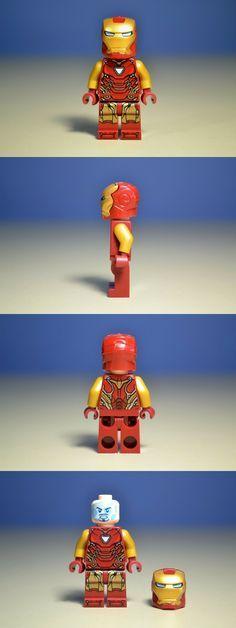 LEGO Minifigures 19001: Lego Marvel Super Heroes Avengers Endgame Iron Man Mk 85…