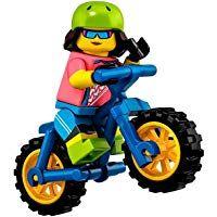 LEGO Minifigures Series 19 Female Mountain Biker Minifigure 71025 (Bagged)