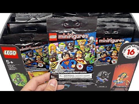 LEGO DC Super Heroes Minifigures – 50 pack opening!