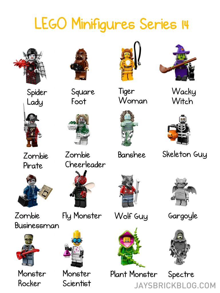 LEGO Minifigures Series 14 includes some surprising monsters.