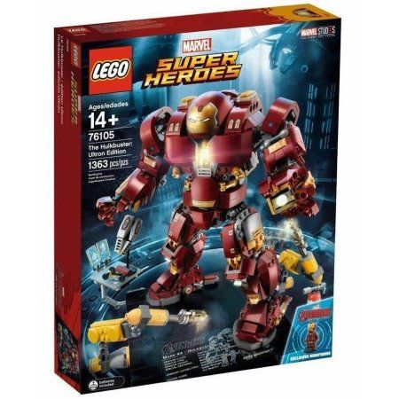 LEGO Super Heroes The Hulkbuster: Ultron Edition 76105 – Walmart.com