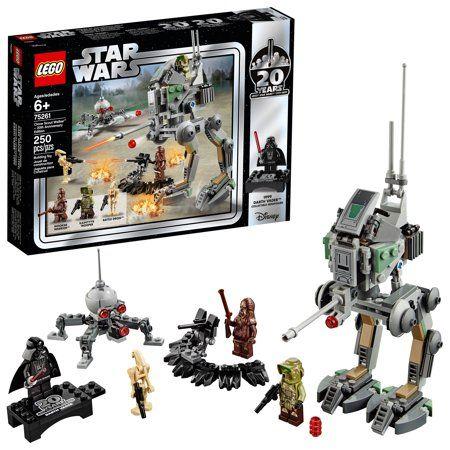 LEGO Star Wars 20th Anniversary Edition Clone Scout Walker 75261 Building Set – Walmart.com