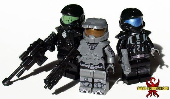 Military Sci-Fi Custom Minifigures