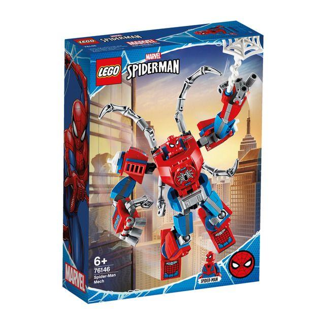 LEGO – Armadura Robótica de Spider-Man Lego Super Heroes
