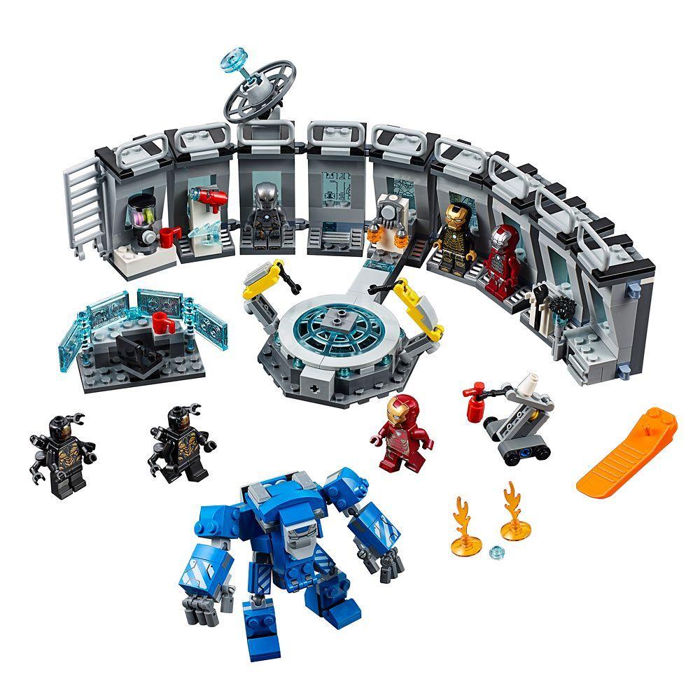 Iron Man Hall of Armor Play Set by LEGO – Marvel Avengers | shopDisney