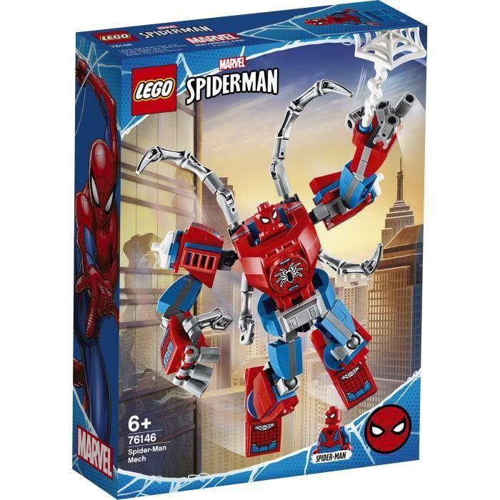 LEGO® Marvel Super HerŒs 76146 Le robot de Spider-Man