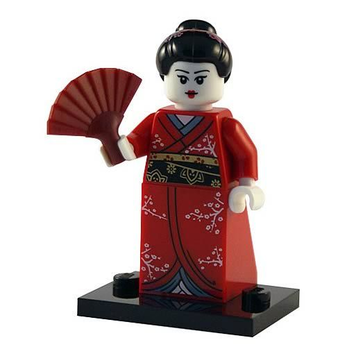 LEGO Minifigures Series 4 Kimono Girl – Entertainment Earth