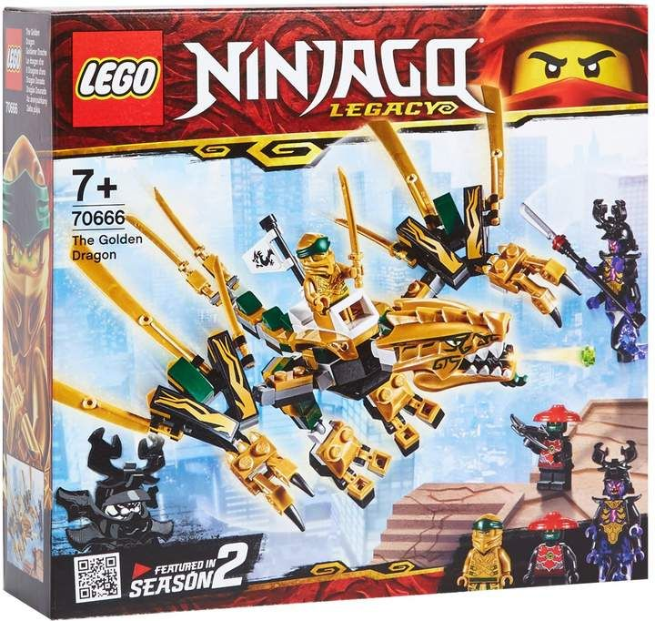 Lego Ninjago The Golden Dragon | Harrods.com