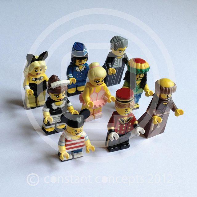 2012 Lego Minifigures Series Constant Concepts by Constant Concepts, via Flickr