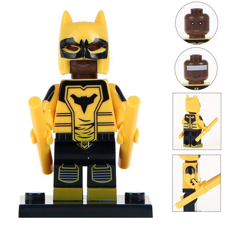 Minifigure The Signal Duke Thomas DC Comics Super Heroes Compatible Lego Building Blocks Toys