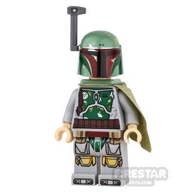 LEGO Star Wars Mini Figure –  Boba Fett – Tan Hands | Star Wars LEGO Minifigures – Episode 4,5,6 | LEGO Minifigures