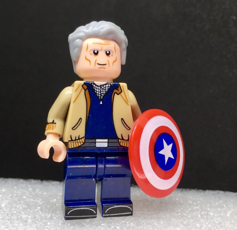 CAPTAIN AMERICA OLD SUPER HEROES Marvel lego Film Minifigure endgame | eBay