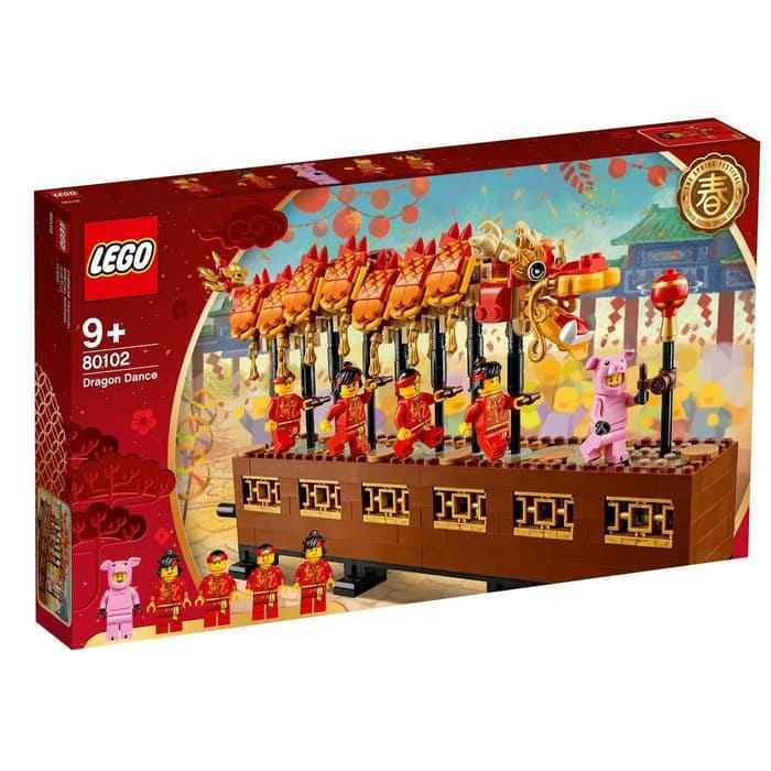 Lego 80102 Chinese Dragon Dance US SELLER – ON HAND – FREE SHIPPING