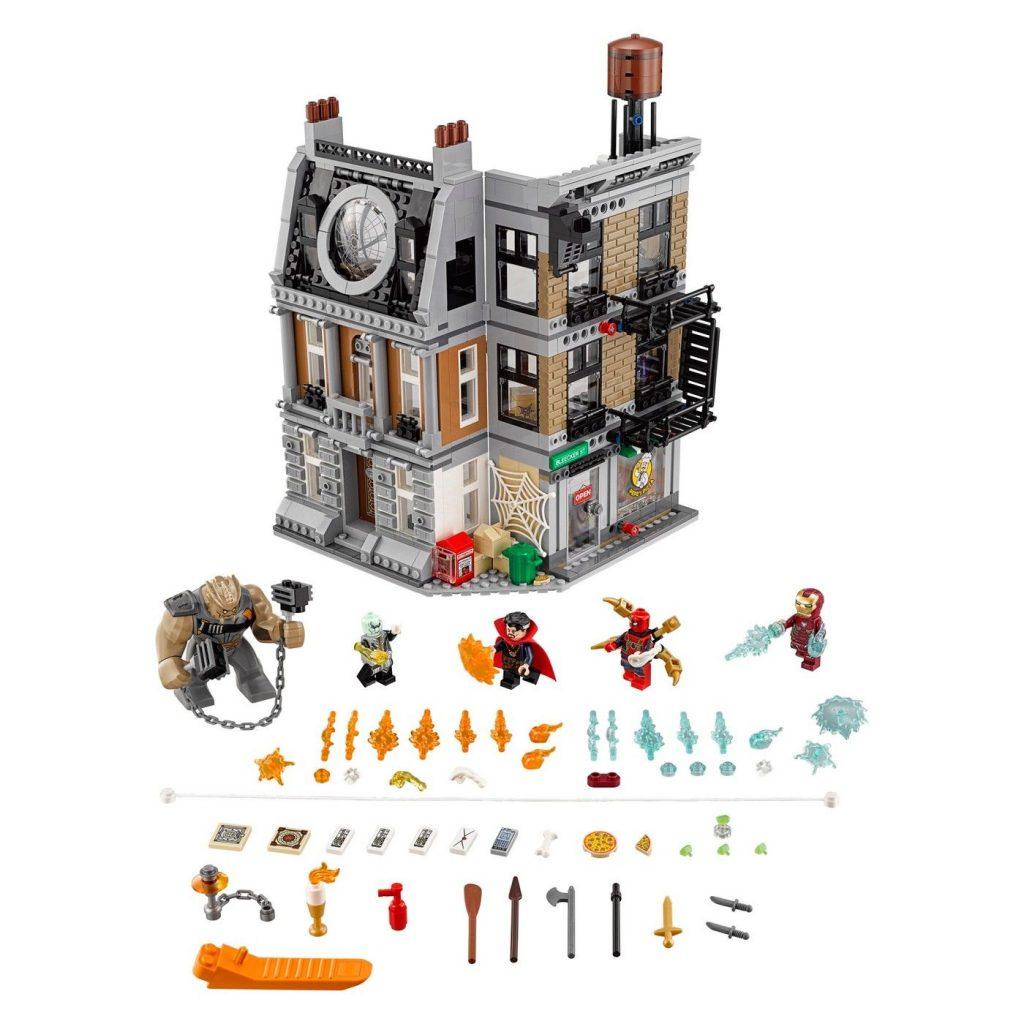 LEGO Super Heroes Marvel Avengers Movie Sanctum Sanctorum Showdown 76108 : Targe…
