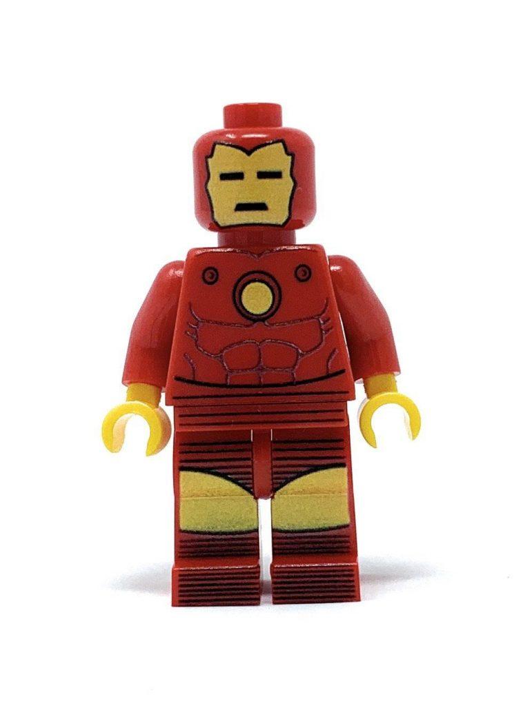 Classic Iron Hero – Custom LEGO Minifigure