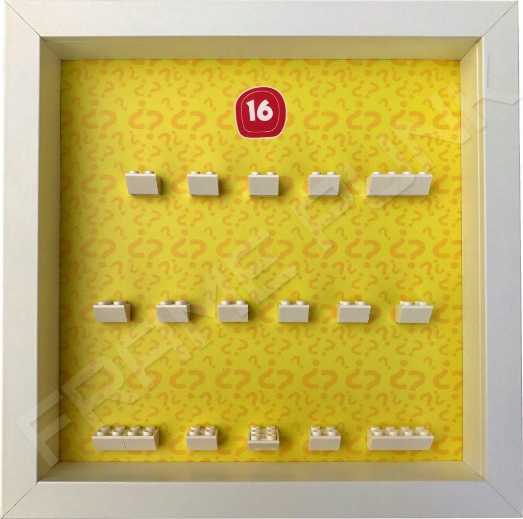 LEGO Minifigures Series 16 Frame (display model) | Frame Punk