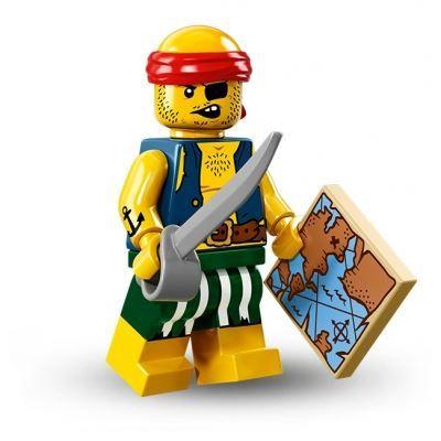 LEGO Minifigures – Scallywag Pirate | Minifigures Series 16 | Collectable LEGO Minifigures