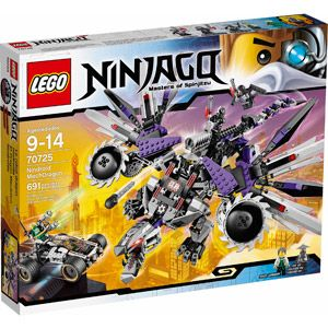 LEGO Ninjago Nindroid MechDragon and Nya's Car with 5 Minifigures Set | 70725