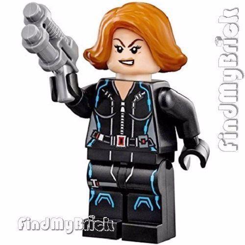BM060 Lego Marvel Super Heroes S.H.I.E.L.D Black Widow Minifigure from 76042 NEW