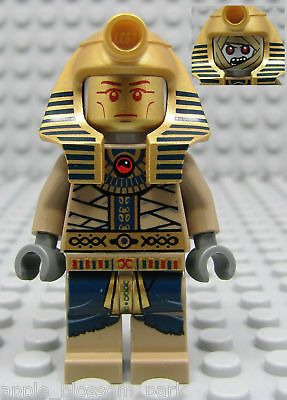 Lego Minifig Pharaoh's Quest Amset-ra – Gold Halloween Mummy Minifigure 7327 for sale online | eBay