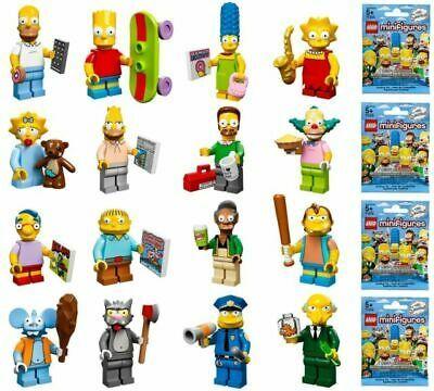 Ad – LEGO SIMPSONS Minifigure Series 71005 – PICK CHOOSE – NEW SEALED
