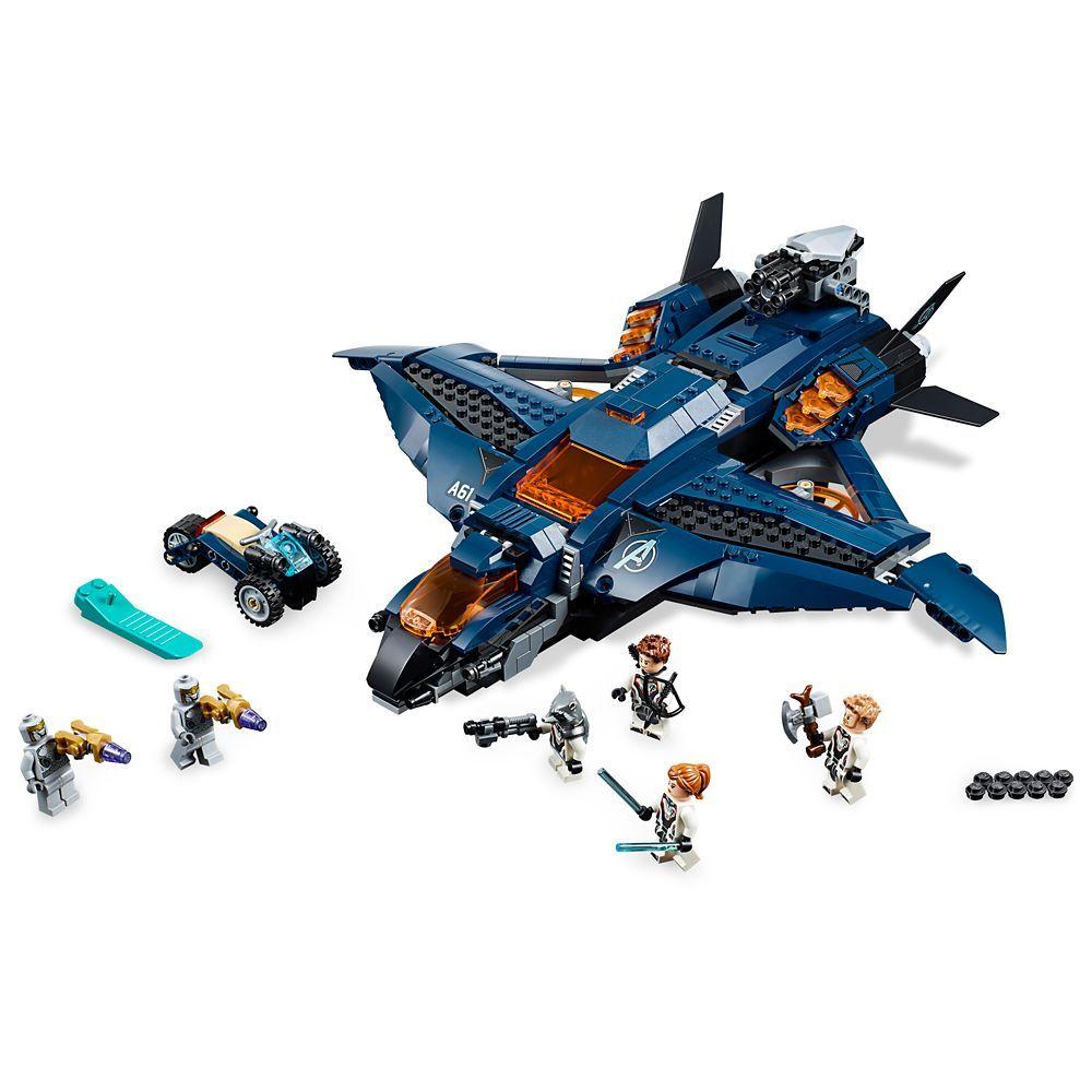 Marvel's Avengers Ultimate Quinjet Play Set by LEGO  Marvel's Avengers: Endgame – Official shopDisney�