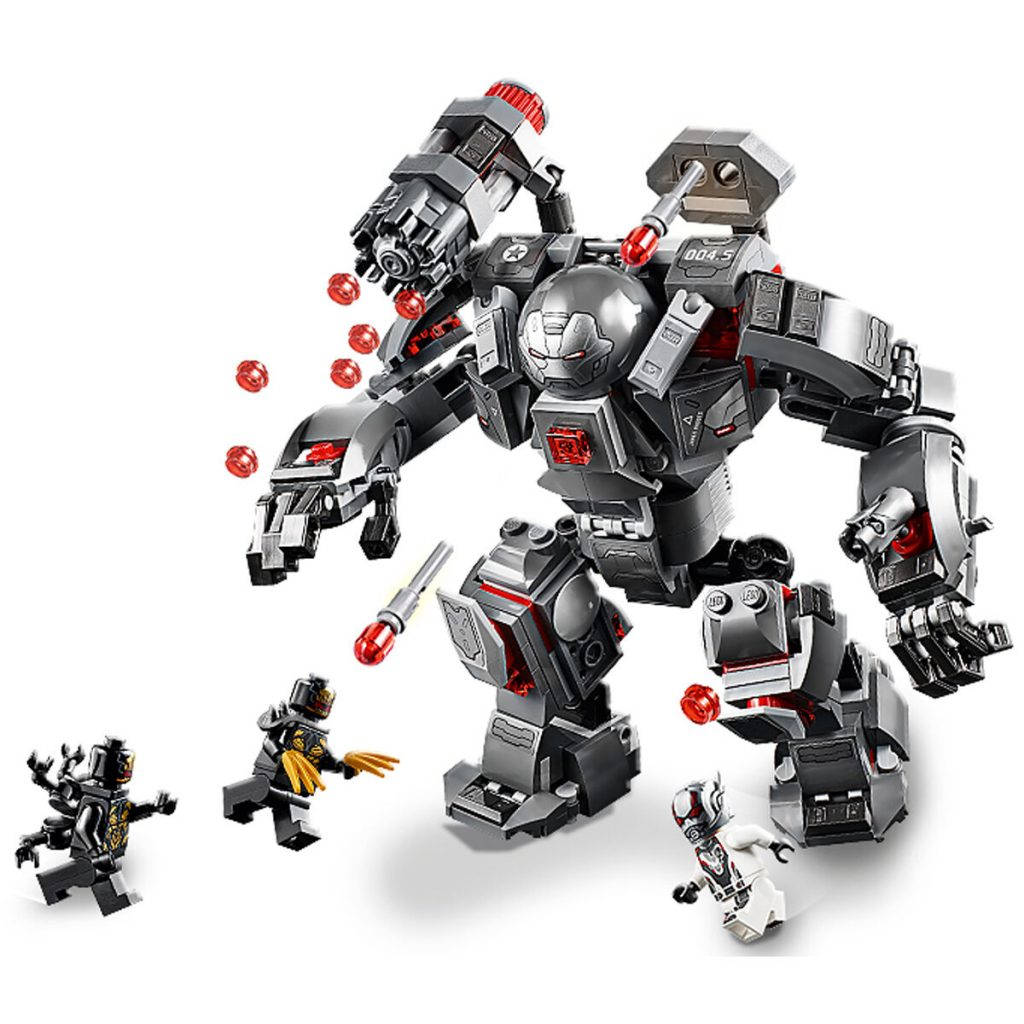 76124 LEGO Marvel Avengers War Machine Buster Marvel Avengers Toy (362 pieces)