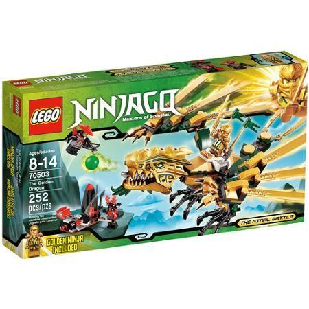 LEGO Ninjago The Golden Dragon Play Set – Walmart.com