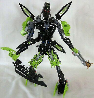Ad – RARE Hard To Find 2009 Bara Magna Bionicle Lego 8991 TUMA 188 pce 100 %