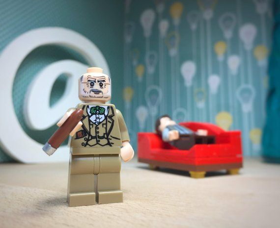Sigmund Freud Lego® Couch Gift Set