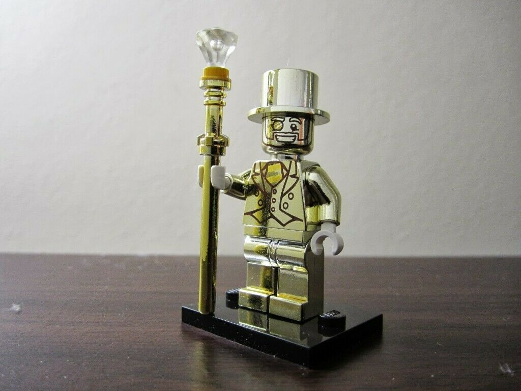 Lego Minifigure Series 10 Mr. Gold Rare!!!  | eBay