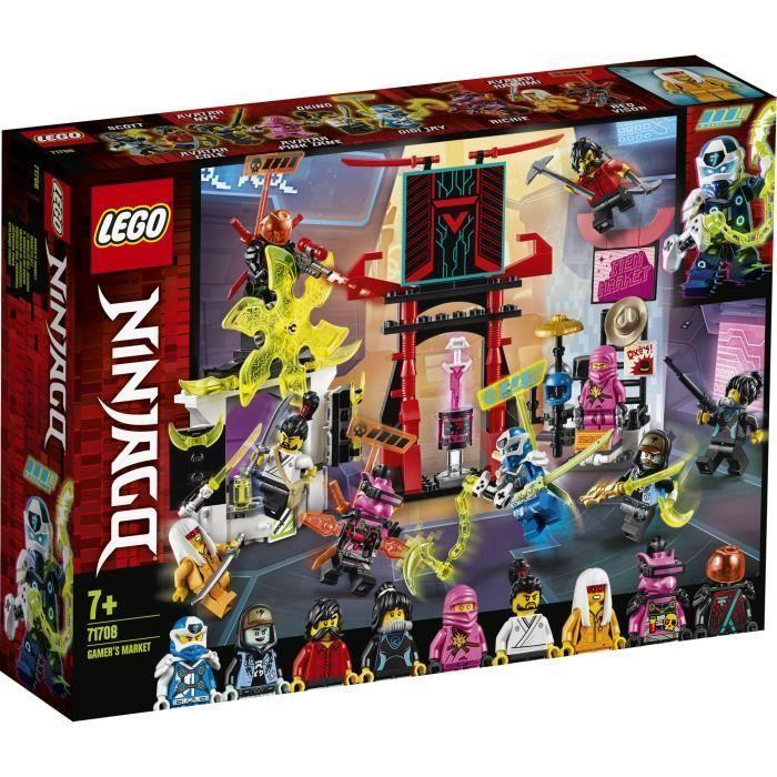 LEGO® NINJAGO® 71708 Le marché des joueurs