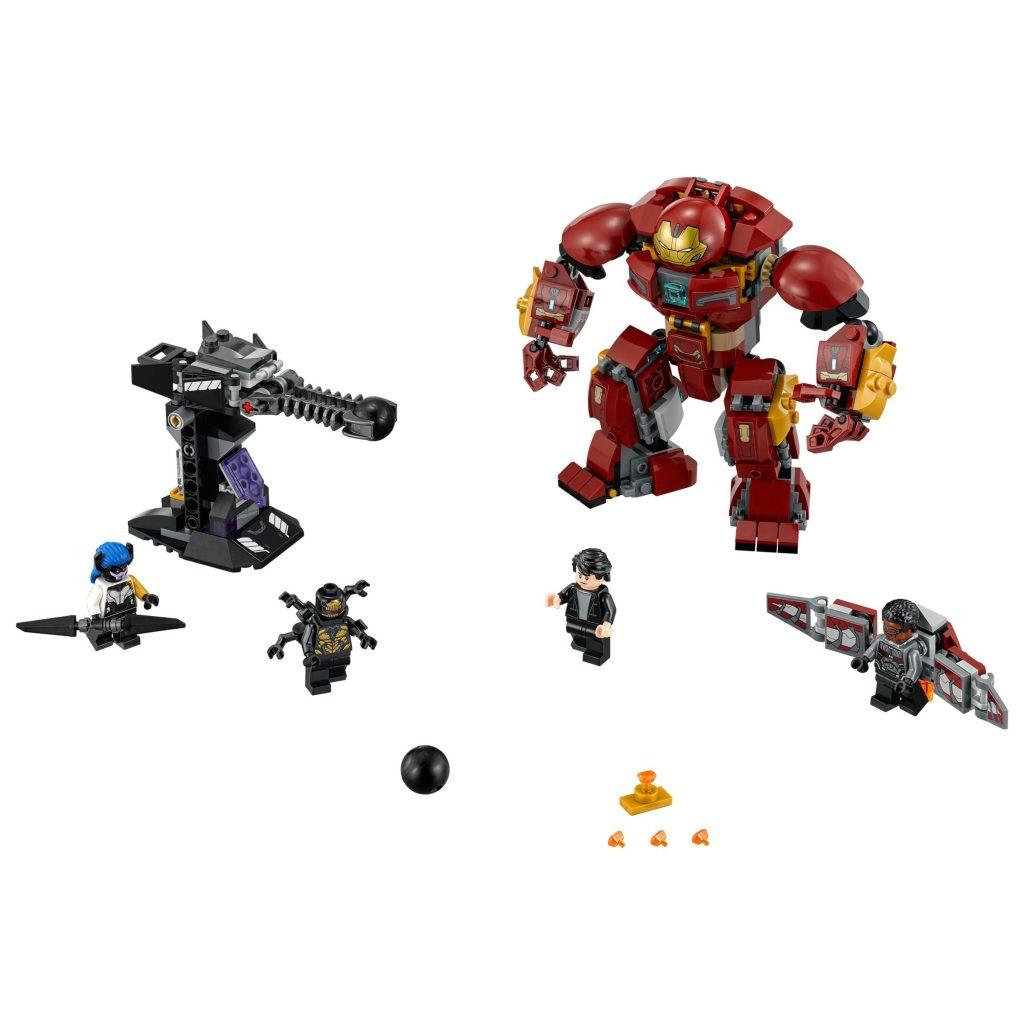 LEGO Marvel Super Heroes 76104 Avengers The Hulkbuster Smash Up