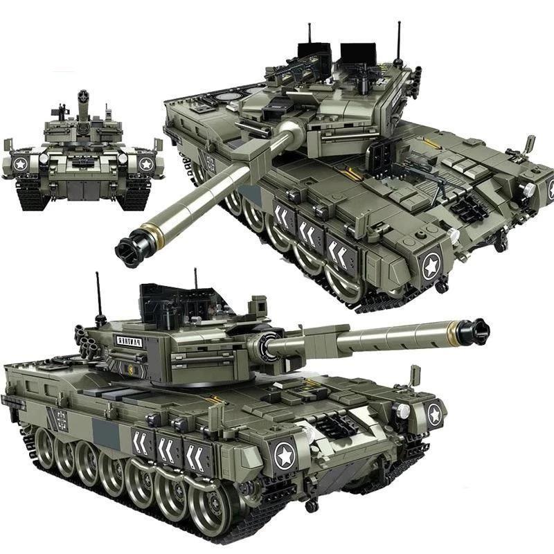 Leopard 2 Main Battle Tank 1747 Pieces 5 Minifigures
