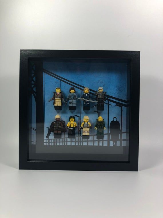 Custom Minifigure Frame Compatible With Lego | Stealth Team 2