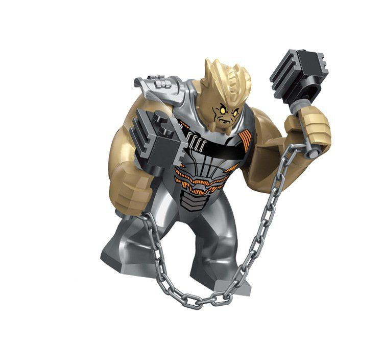 Avengers Infinity War Super Heroes Cull Obsidian Minifigures Compatible Lego Minifigures